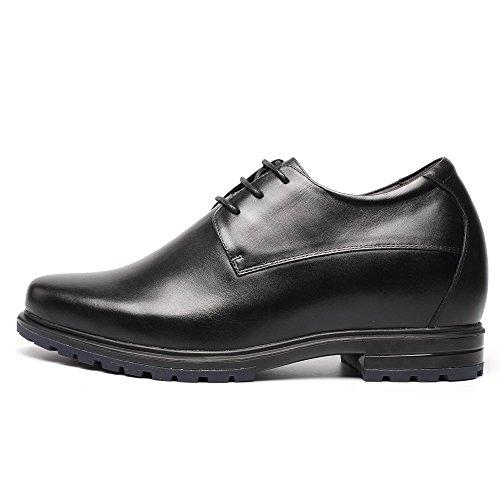 Chamaripa , Chaussures de ville à lacets pour homme noir noir