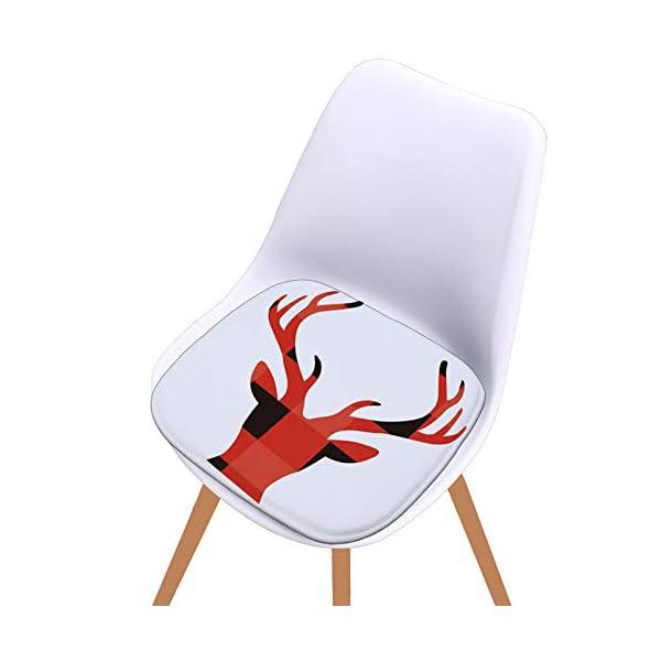 Fablcrew Cuscini per sedie, Morbido Cuscino per Sedia Cuscino Sedia Cucina da Giardino, per Cuscino Auto, Cuscino per… 4 spesavip