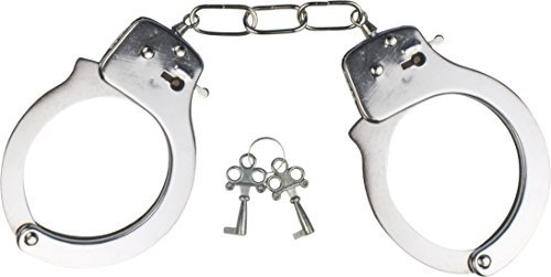 Kangaroo Costume Accessories Metal Handcuffs -