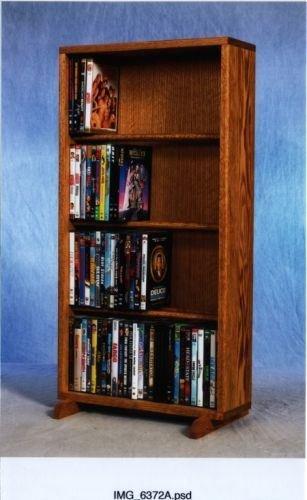 CD Racks The Wood Shed 415-18 DVD Storage Cabinet - Dark