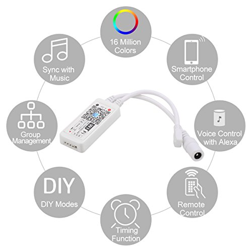 yihong-wifi-led-controller-for-strip-lights-smart-controller-with-remote-for-led-rgb-light-strip-compatible-with-alexa-google-home