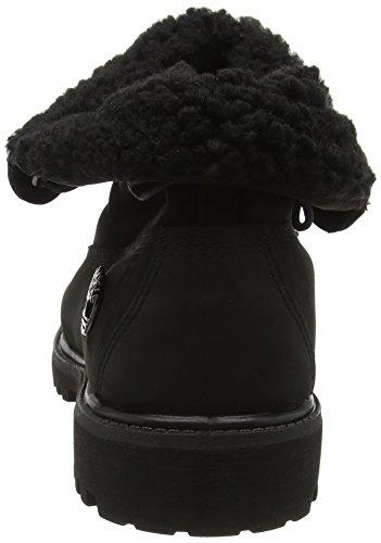 Timberland Roll Top_roll Top_roll Top F/F Af - botas de media caña con forro cálido Hombre Black Black