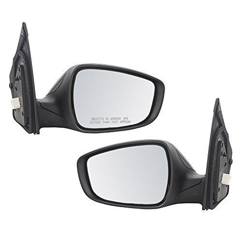 Pair Set Side View Power Mirrors Heated Signal Replacement for Hyundai Elantra GT 87610-A5220 87620-A5200 - Gt Side View Power Mirror