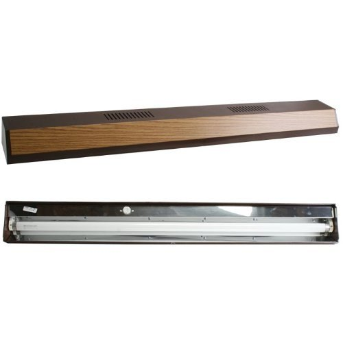 Perfecto Manufacturing APF26363 Marineland Fluorescent Perfect-a-Strip Deluxe Light Reflector for Aquarium, 36-Inch, Oak (Fluorescent Reflector)
