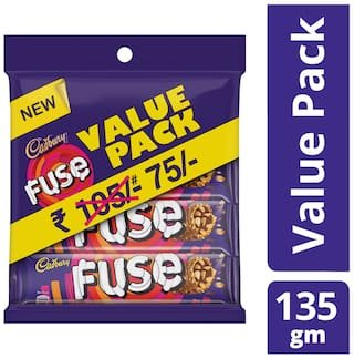 Cadbury Fuse- 9 Boxes - Pack of 3: Amazon.in: Grocery & Gourmet FoodsAmazon.in