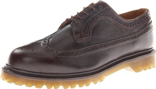 Dr. Martens Men's 3989 Brogue Wingtip Shoe - stylishcombatboots.com