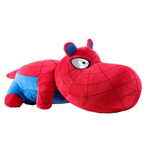Lifiter Spiderman Stuffed Animal, Embroidery Dog Plush Throw Pillow for Boys,Bamboo Charcoal Bag Toys for Bed, Sofa & Car-13