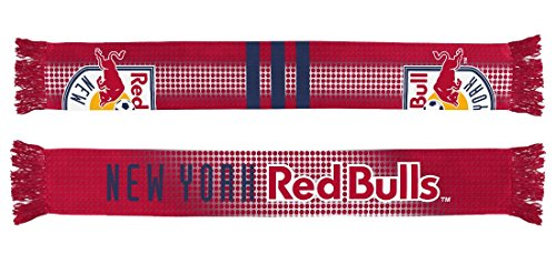 New York Red Bulls Adidas MLS Performance Sublimated Team Scarf