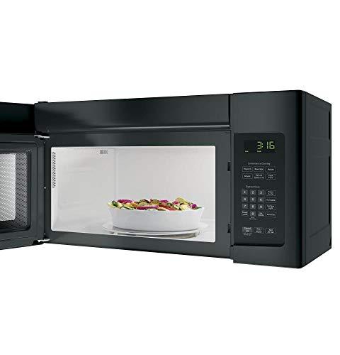 GE JNM3163DJBB Over-the-Range Microwave, 1.6
