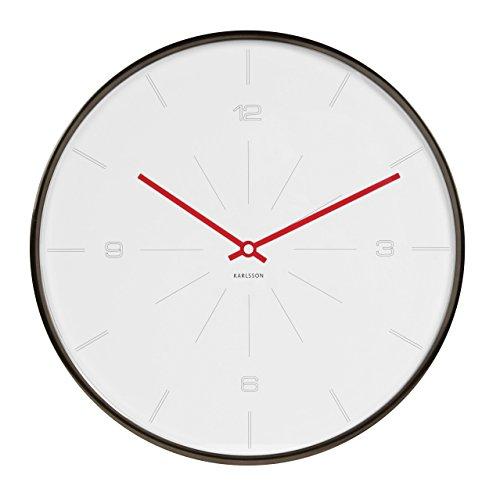 Karlsson Wall Clock - Thin Line - Round Clock