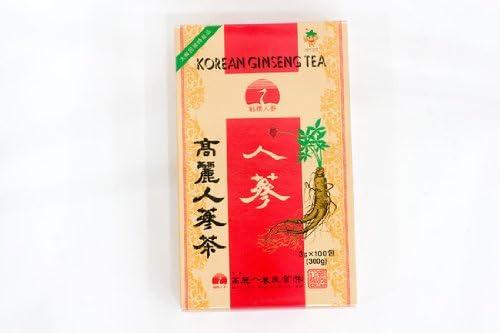 高麗人参茶(紙箱)100包韓国お茶/伝統お茶/健康お茶//韓国お土産/お歳暮/お中元/ギフト/プレゼント/お贈り物