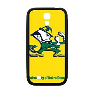 LINGH NCAA Notre Dame Fighting Irish Logo Cell Phone Case for Samsung Galaxy S4