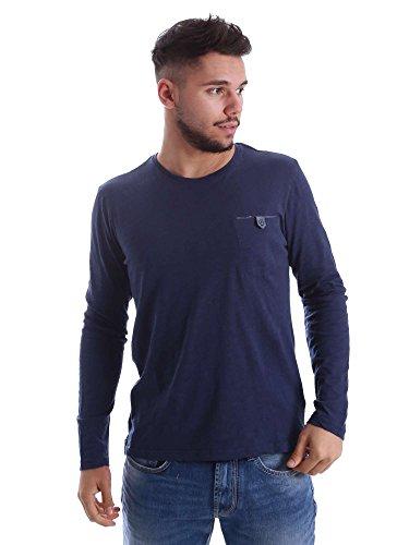 Gas 300155 T-shirt Man Blue 3xl