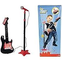 Simba Mmw Guitar With Microphone Stand Oyuncak Gitar Ve Mikrofon