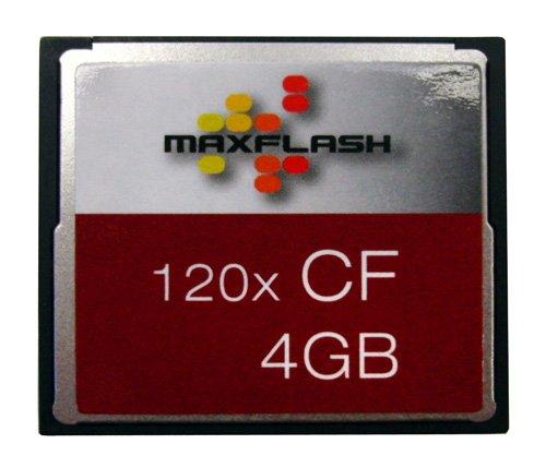 MaxFlash 4GB Compact Flash memoria flash CompactFlash P4A11164