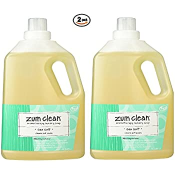 Amazon Com Zum Clean Sea Salt Laundry Soap 64 Oz 2 Pack
