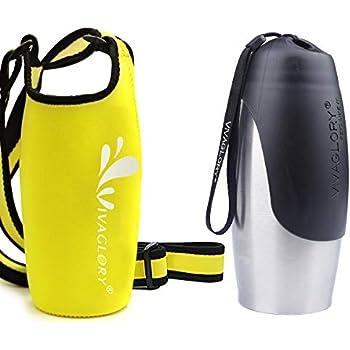 Amazon.com: Vivaglory - Botella de acero inoxidable para ...