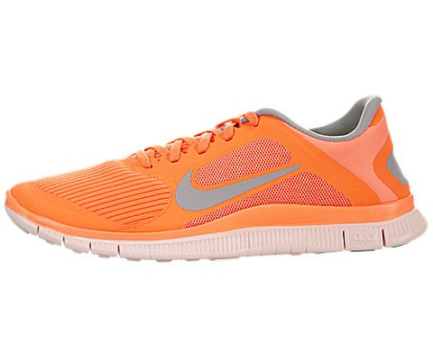 premium selection 80141 dcc2a Nike Women's Free 4.0 V3 Running Shoe In Orange/Grey - Import It All