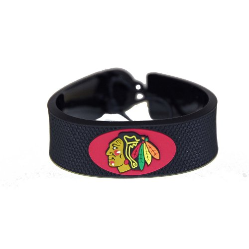 Gamewear Bracelet (GameWear Chicago Blackhawks NHL Classic Hockey Bracelet)