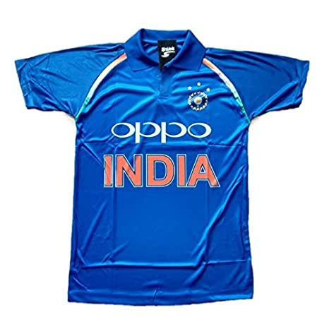 b44c3210ea6 Buy HeadTurners Indian Cricket Team ODI 2018-2019 Jersey T-Shirt for ...