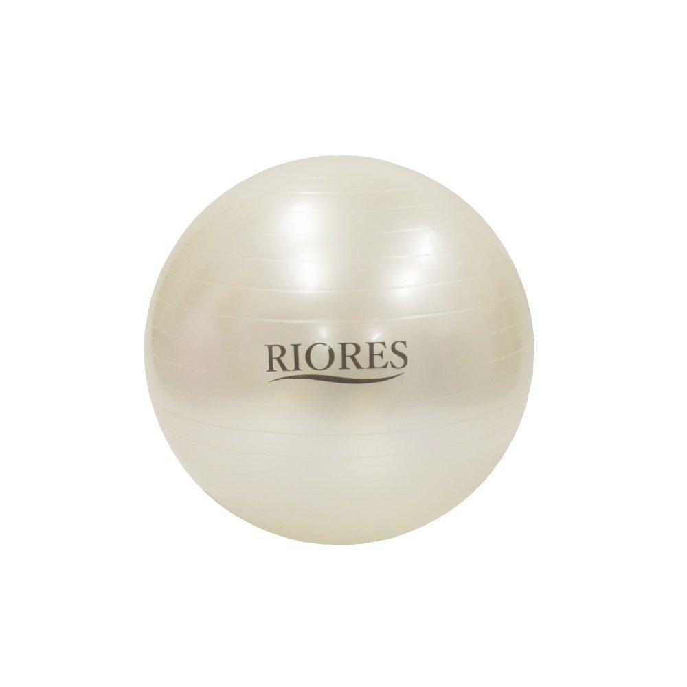 RIORES (リオレス) バランスボール 55cm フットポンプ付き