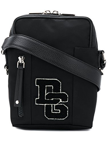 Dolce E Gabbana Men's Bm1515an4618b956 Black Polyamide Messenger - Dolce And Black Bag Gabbana