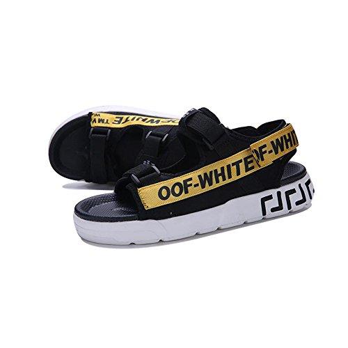 De Moda YQQ Zapatillas Zapatos De Hombres Casuales Juventud De De Zapatos Zapatos Playa Antideslizante Vacaciones Chico Masculinos Zapatos Verano Amarillo Acogedor Sandalias q0Xwr0gY