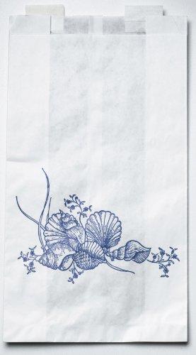 Medline NON24309PZ Bag, Bedside, Plastic, White, 6.5