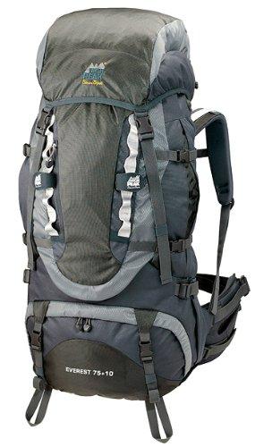 EVEREST 6,500 Cu In Internal Frame Backpack By High Peak, Outdoor Stuffs