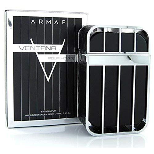 SHINE MILL Original Armaf Ventana Pour Homme EDP, 100ml Long Lasting Deodorant Perfume Fragrance Spray