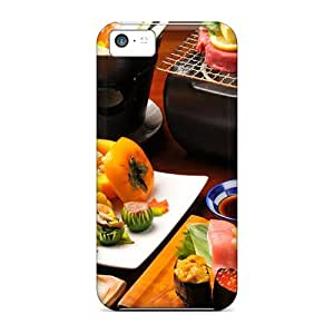 New Arrival XwbLk8729AxdVK Premium Iphone 5c Case(sushi Feast)