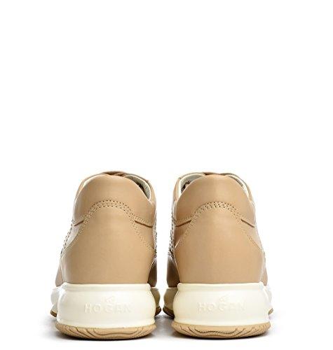 Hogan Sneakers Donna HXW00N00E30D0W9999 Pelle Marrone