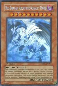 Crimson Dragon (Yu-Gi-Oh! - Red Dragon Archfiend/Assault Mode (CRMS-EN004) - Crimson Crisis - Unlimited Edition - Ghost)