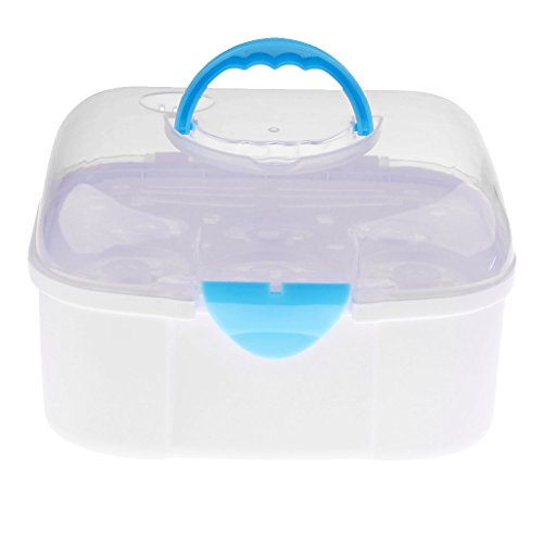 Prettyia Multifunctional Baby Milk Bottle Storage Box Contai
