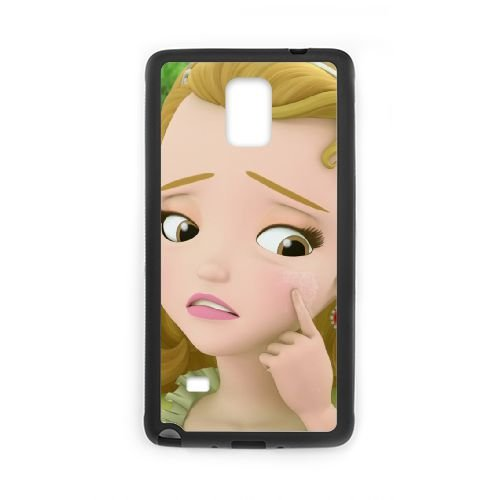 Price comparison product image Samsung Galaxy Note 4 Cell Phone Case Black Disney Sofia the First Character Princess Amber 09 Laffu