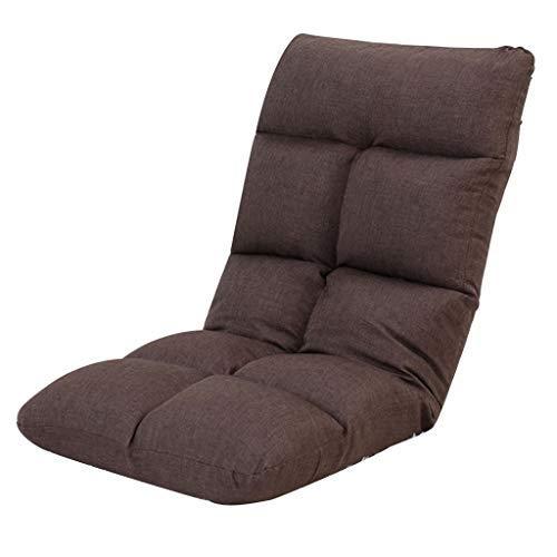 折りたたみ怠惰なソファベッドルームシングルソファベッドリビングルームソファリクライニングチェア多機能パーラーラウンジチェアマルチレンジ調節可能な椅子耐荷重120キログラム B07SW29G9T
