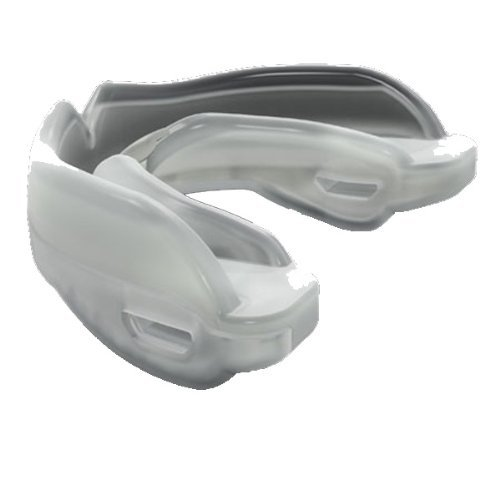 (Shock Doctor 7900 Youth Baseball/Softball STC Mouthguard Strpless, Clear, Y)