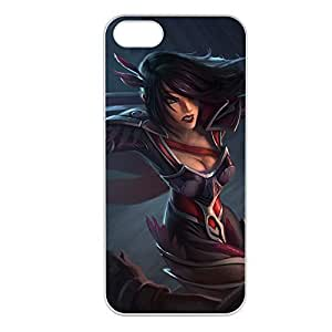 Fiora-001 League of Legends LoL case cover for Apple iPhone 5/5S - Plastic White