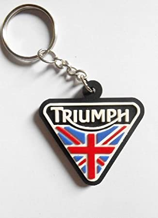 Keyring - keyrings - Triumph - UK - motorcycle - motorbike - car - key ring 2f8301eb0