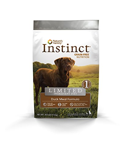 Instinct Limited Ingredient Diet Grain Free Duck Meal Formula Natural Dry Dog Food by Nature's Variety, 25.3 lb. Bag
