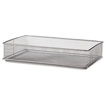 Amazon Com Design Ideas Mesh Drawer Store Silver 6 By 9