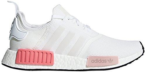 adidas Originals Women's NMD_R1 W Sneaker, Running White/Running White/Icey Pink, 6.5 M US