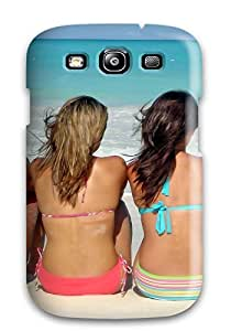 Fashion Tpu Case For Galaxy S3- Girls On The Beach Defender Case Cover