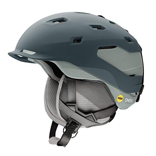 Smith Optics Quantum Adult Mips Ski Snowmobile Helmet - Matte Thunder Gray / Large (Helmet Quantum Mens)