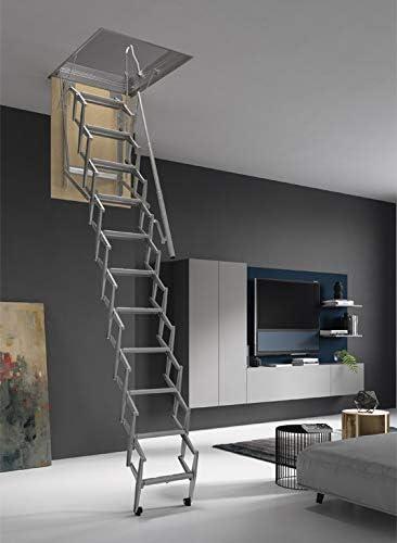 70 x 45 cm. Mister Step Escalera escamoteable para buhardillas ADJ