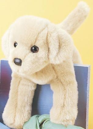 Douglas Spankie Yellow Lab Plush Dog - Yellow Dog Soft Toy