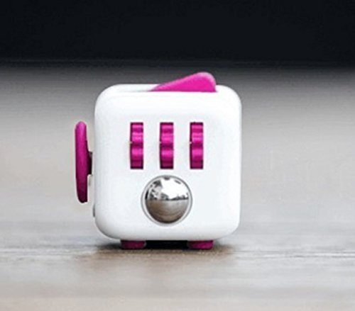 Price comparison product image Fidget Cube for Fidgeters! Relieve Stress, Anxiety, and Boredom for Children and Adults. (RED)