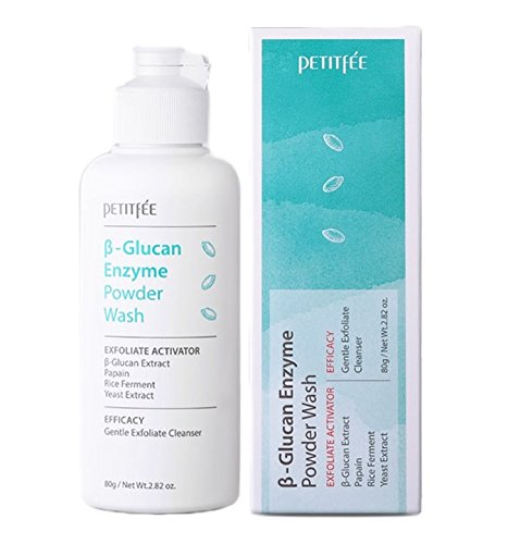 Petitfee Beta Glucan Enzyme Powder Wash Cleanser (80g 2.82 oz)