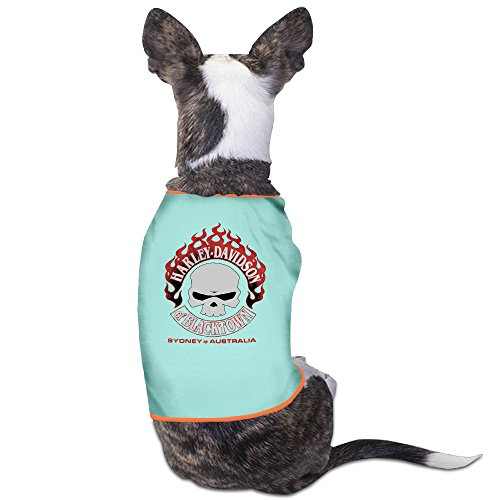 Harley Davidson Motorcycles Puppy Clothes Pet Supplies
