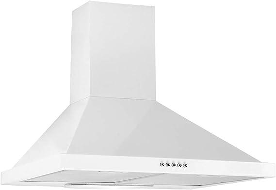 LINKEN LKDM60W LKDM90X Hotte, Blanco, 60 cm: Amazon.es: Bricolaje y herramientas